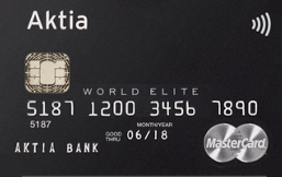 Aktia World Elite Credit logo