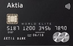 Aktia World Elite Credit logo
