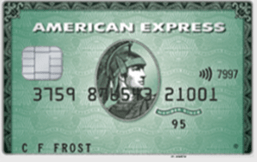 American Express Green logo