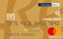 Danske Bank MasterCard Gold logo