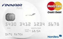 Nordea Finnair Plus MasterCard logo