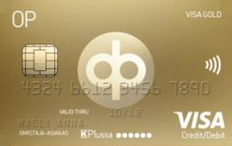 Osuuspankki Visa Gold logo
