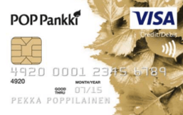 POP Pankki Visa Gold logo