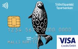 Säästöpankki Visa logo